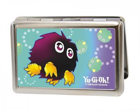 Business Card Holder - LARGE - YU-GI-OH! Kuriboh Pose/Swirl FCG Aqua/Purple/Yellow