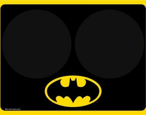 Placemat - Batman Black/Yellow w/Bowl Markers