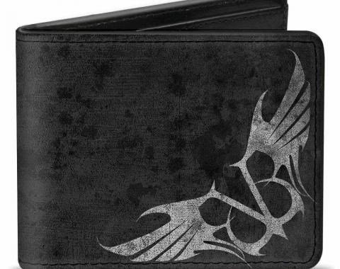 Bi-Fold Wallet - BVB Winged Logo Grays