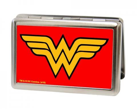 Business Card Holder - LARGE - Wonder Woman Logo FCG Red