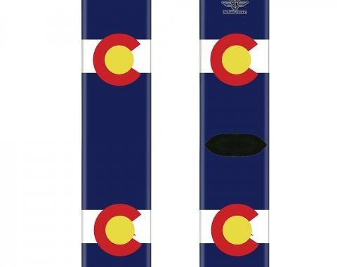 Sock Pair - Polyester - Colorado Flags - CREW