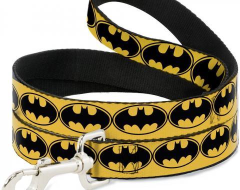 Dog Leash Bat Signal-3 Yellow/Black/Yellow