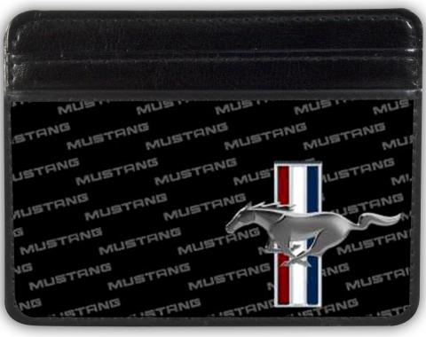 Weekend Wallet - Ford Mustang w/Bars CORNER w/Text