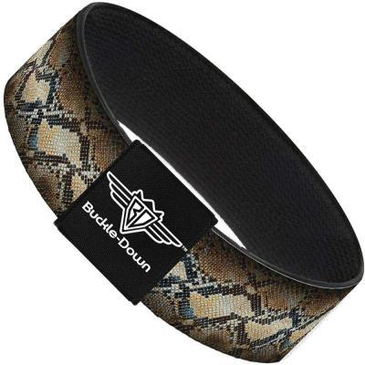 Buckle-Down Elastic Bracelet - Snake Skin 4