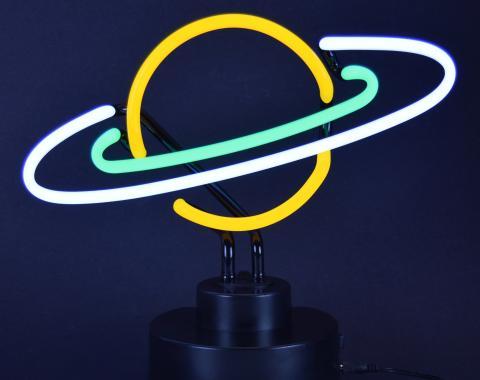 Neonetics Neon Sculptures, Saturn Neon Sculpture