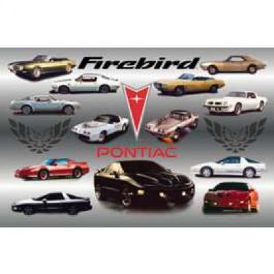 Firebird History Poster, 1967-2000