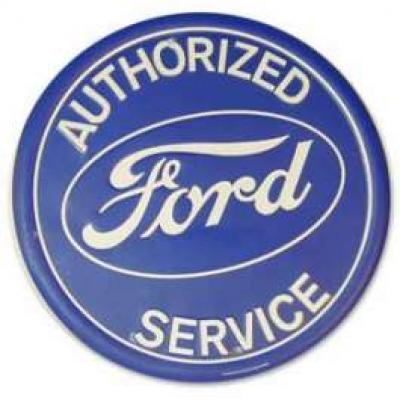 Sign, Ford Authorized Service