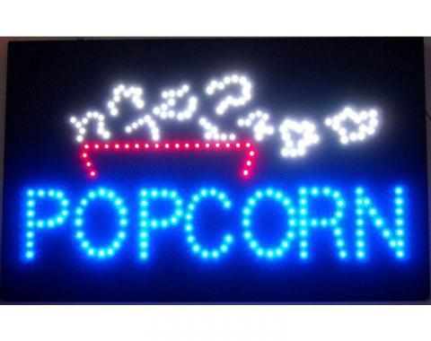Neonetics Led Motion Signs, Popcorn Led Sign